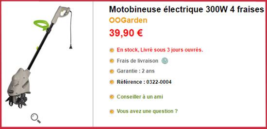 Certains motobineuses sont proposées à des tarifs très bas, mais qu'en est-il de leur qualité ?