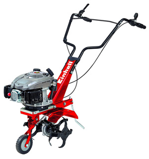 La motobineuse Einhell GC-MT1636 est une motobineuse thermique pas cher et convaincainte.